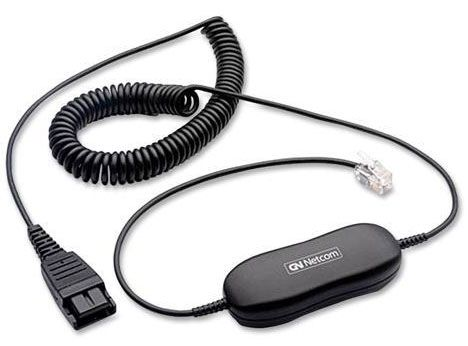 Jabra GN1200 Headset Cord Coiled (88011-99)