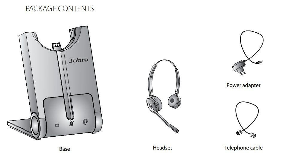 Jabra PRO 920 Duo Wireless Headset (920-69-508-105)