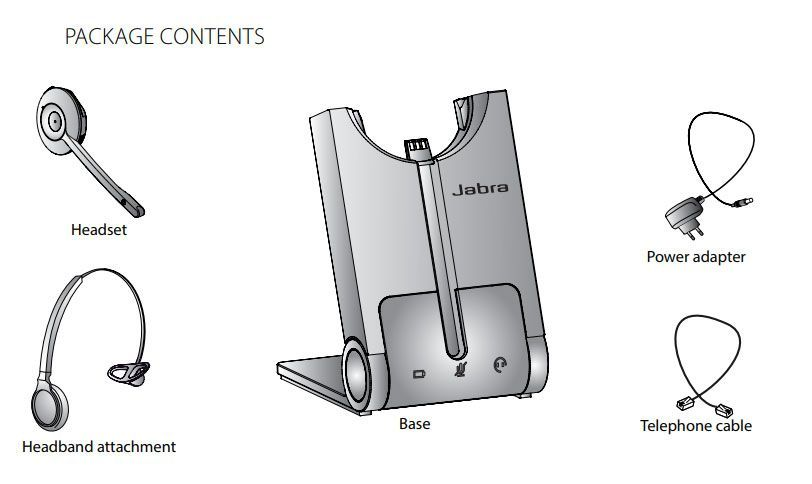 Jabra PRO 925 Dual Connectivity Wireless Headset (925-15-508-205)