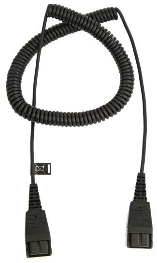 Jabra QD to QD Headset Extension Cord (8730-009)