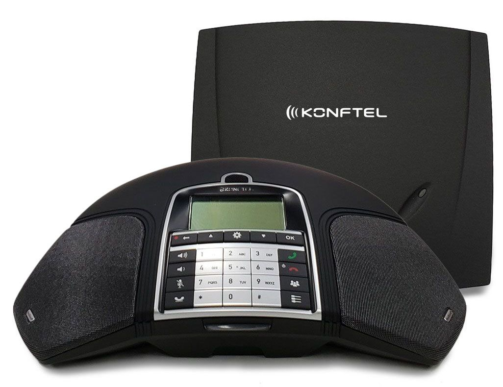 Konftel 300Wx DECT Wireless Conference Phone (840101077) New