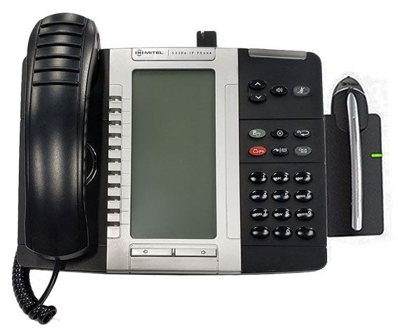 Mitel 5330E IP Phone with Cordless Headset