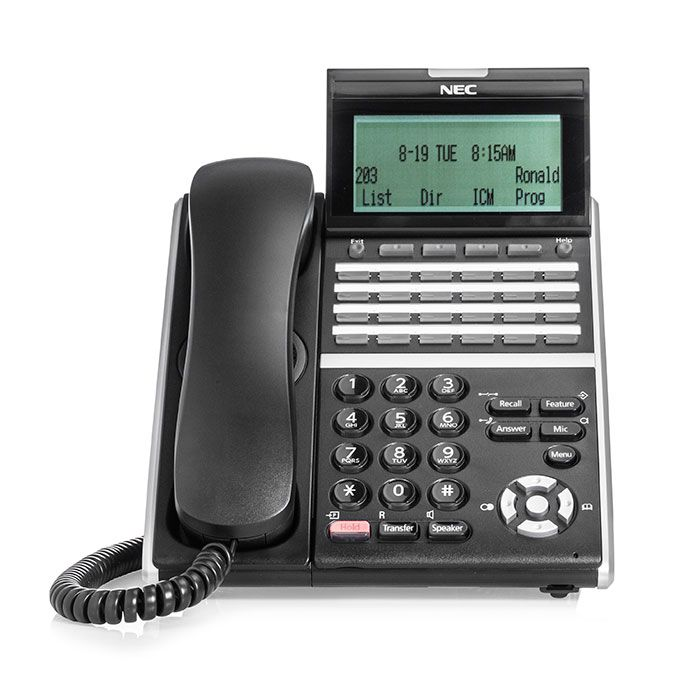 NEC DTZ-24D-3 Digital Phone Black (DT430)