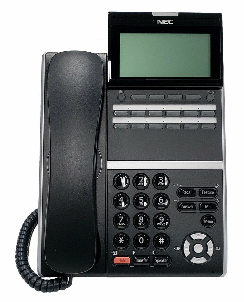 NEC ITZ-12D-3 IP Phone Black (DT830)