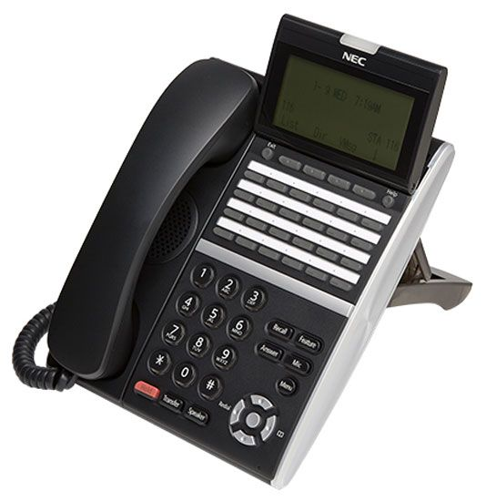 NEC ITZ-24D-3 IP Phone Black (DT830)