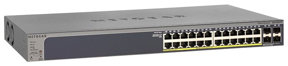 Netgear GS728TP Smart Managed Pro Switch (GS728TP-100NAS)