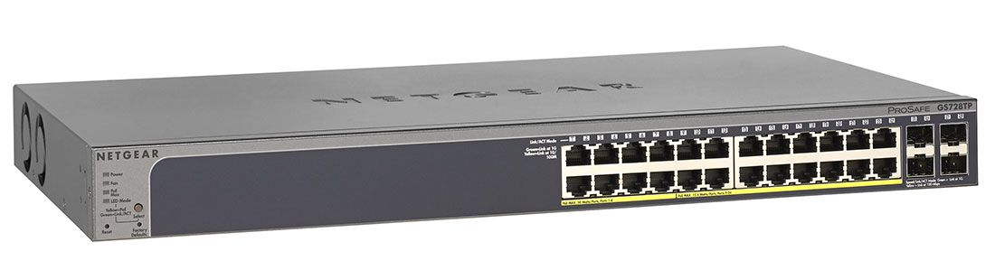 Netgear GS728TPv2 Smart Managed Pro Switch (GS728TP-200NAS)
