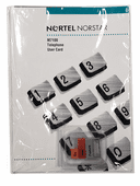 Norstar M7100 Button Set, Feature Card w/Overlay, and Literature Pack