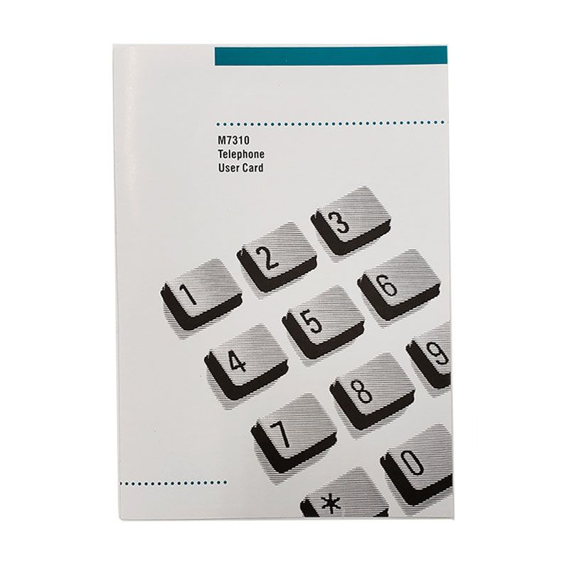 Norstar M7310 Button Set, Labels, Feature Card w/Overlay, and Literature Pack