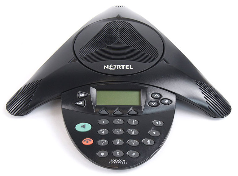 Nortel IP Audio Conference Phone 2033 w/PoE Module and Power Supply (NTEX11EA70E6)
