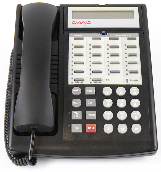 avaya partner 18d telephone rh metrolinedirect com avaya partner 18d manual lucent partner 18 phone manual