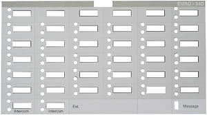 Partner 34D Telephone Labels (10 labels)