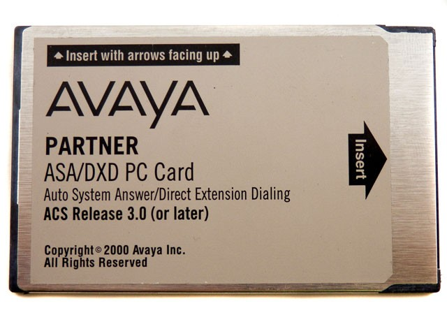 Partner ACS ASA/DXD R3.0 Card (108358722)