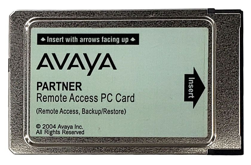 Partner ACS Remote Access, Backup/Restore Card (700429244)