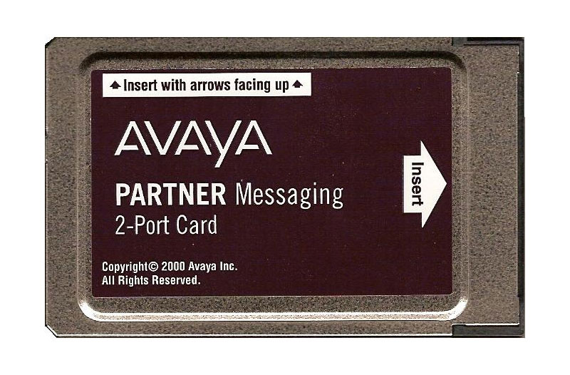Partner Messaging 2-Port Card (700262454)