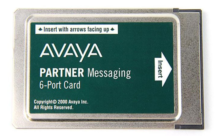 Partner Messaging 6-Port Card (700262470, 700429376)