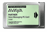 Partner Voice Messaging PC Card Release 3.0 Large - 16-Mailboxes (700226525, 700429392)