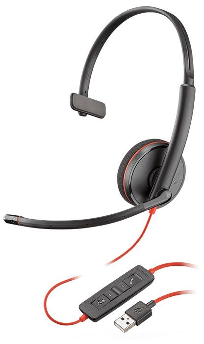 Plantronics Blackwire C3210 USB-A Headset (209744-101)