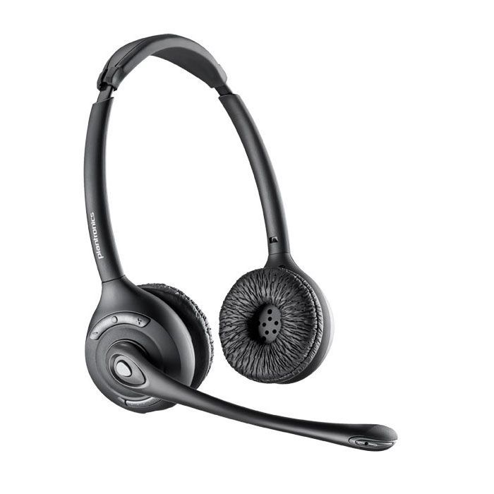 Plantronics CS520 Wireless Headset Package for Polycom SoundPoint IP and Polycom VVX Phones