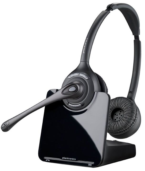 Plantronics CS520 Wireless Headset Package for Yealink T2/T4 Series IP Phones