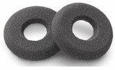 Plantronics Foam Ear Cushions Doughnut Style for Encore and Blackwire - 2 Pack (40709-01)