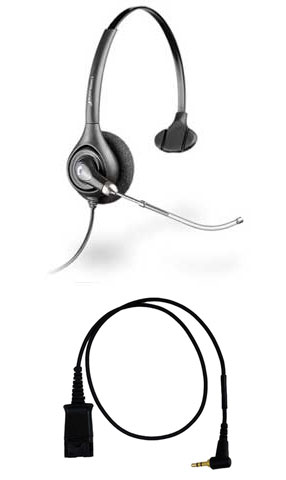 Plantronics HW251 Headset Package for Cisco SPA Series IP Phones