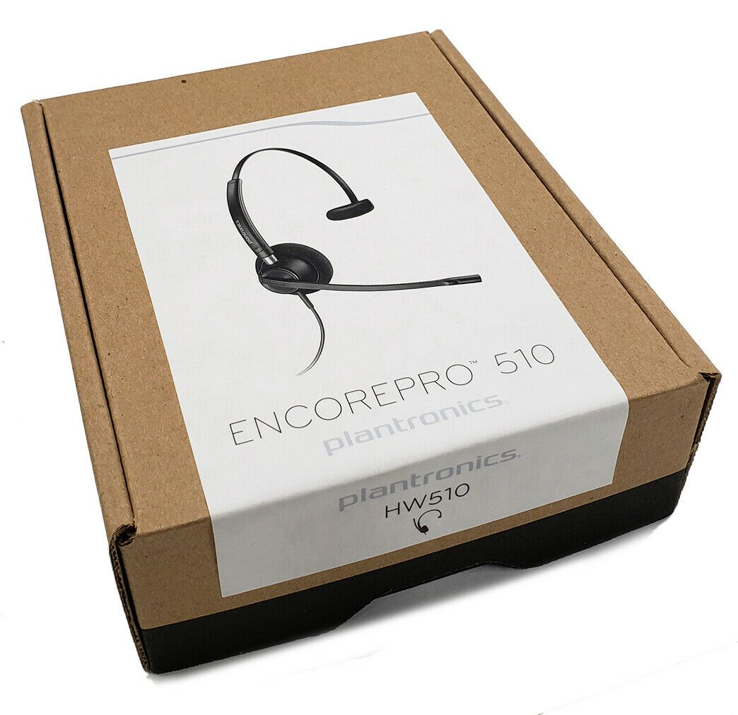 Plantronics HW510 EncorePro Wideband Headset (89433-01)