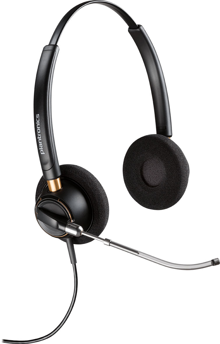 Plantronics HW520V EncorePro Wideband Headset (89436-01)