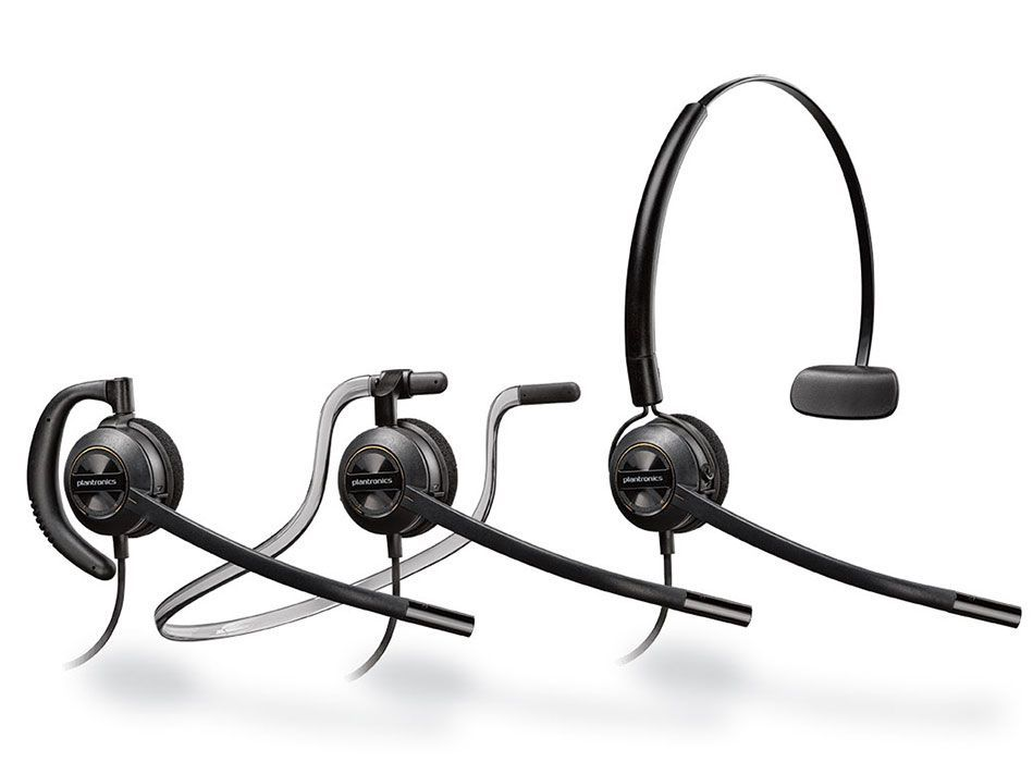 Plantronics HW540 Headset Package for Polycom SoundPoint IP and VVX Phones