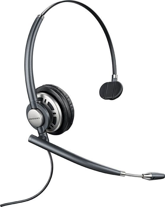Plantronics HW710 Headset Package for Polycom SoundPoint IP and VVX Phones