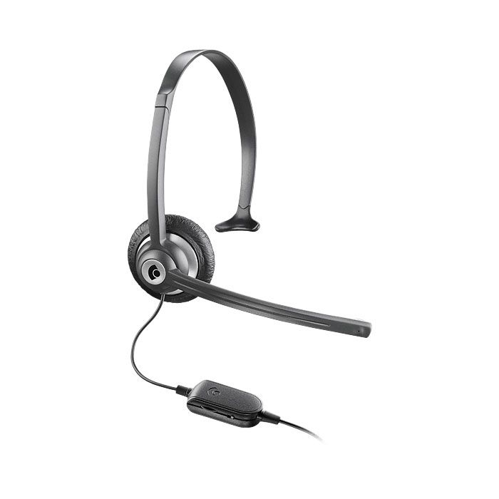 Plantronics M214C Headset for Cordless and Mobile Phones (69056-11)
