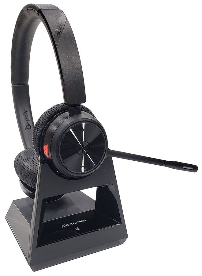 Plantronics Savi 7220 Office Wireless Headset Package for Yealink T2/T4 Series IP Phones