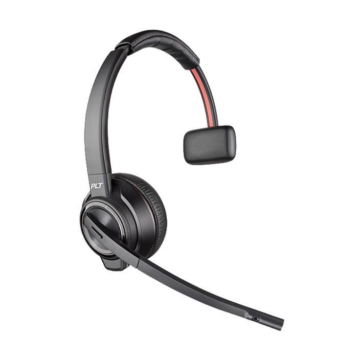 Plantronics Savi 8210-M UC Wireless Headset (209212-01, S8210-M)