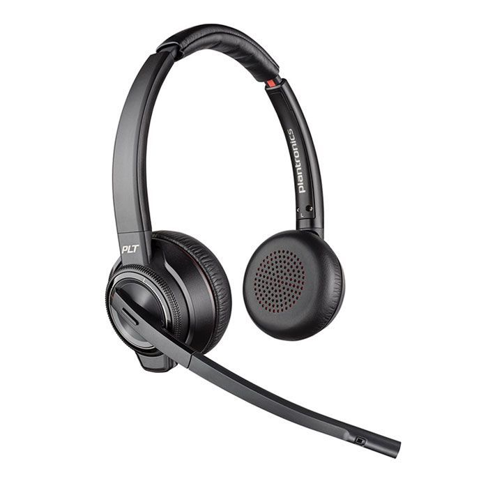 Plantronics Savi 8220-M UC Wireless Headset (209214-01, S8220-M)