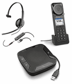 Plantronics USB Headsets and Speakerphones for Unified Communications (UC)