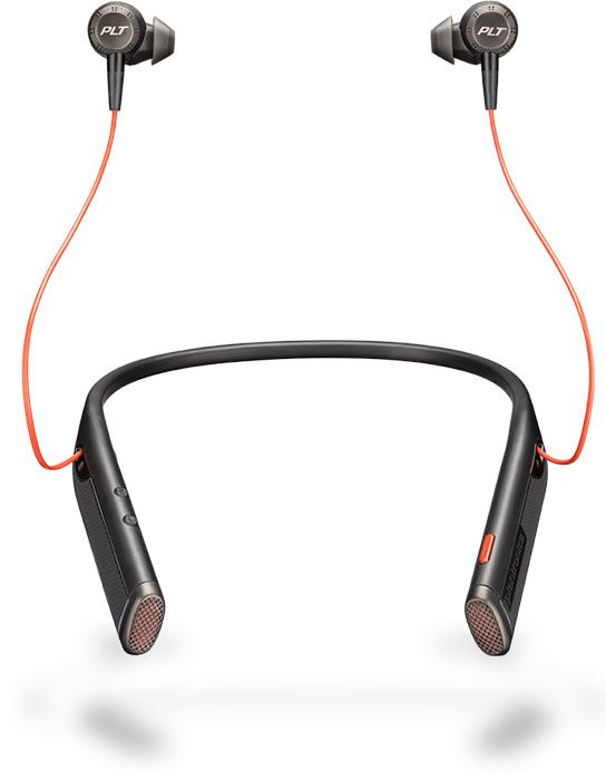 Plantronics Voyager 6200 UC Wireless Headset, USB-C Black (211718-01)