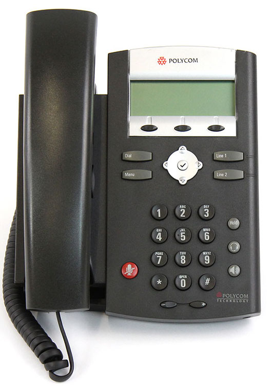 Polycom SoundPoint IP 321 w/AC Adapter (2200-12360-001)