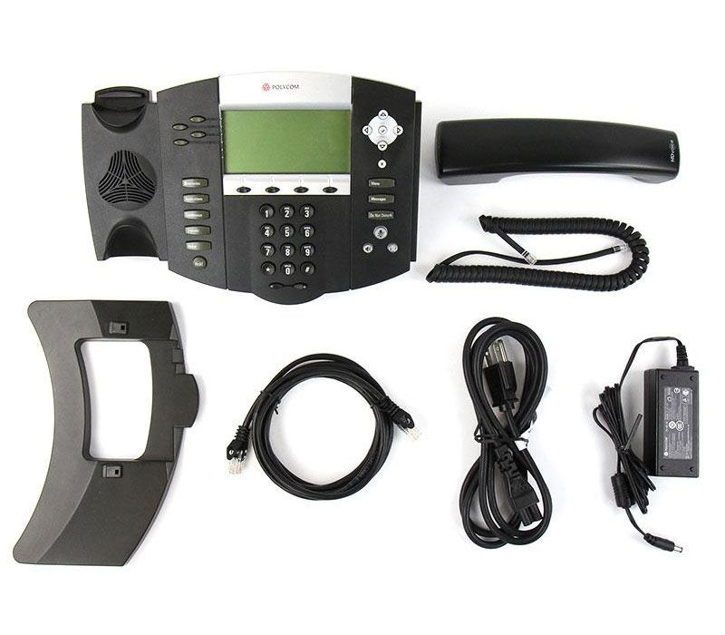 Polycom SoundPoint IP 550 w/AC Adapter (2200-12550-001)