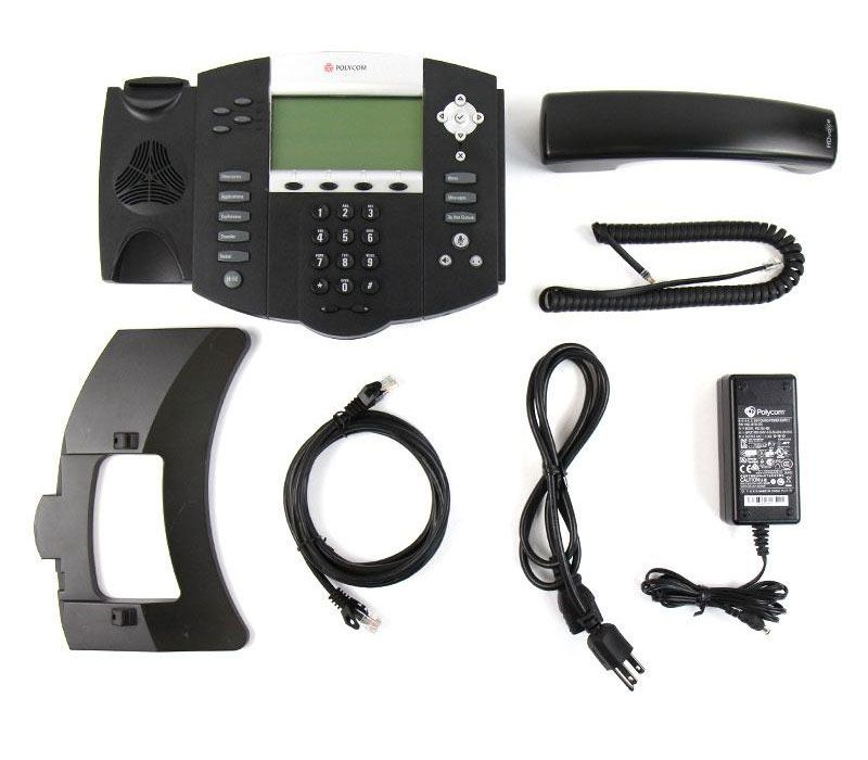 Polycom SoundPoint IP 560 w/AC Adapter (2200-12560-001)