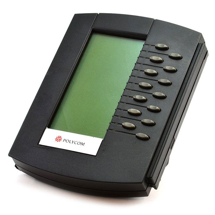 Polycom SoundPoint IP Backlit Expansion Module (2200-12750-025)