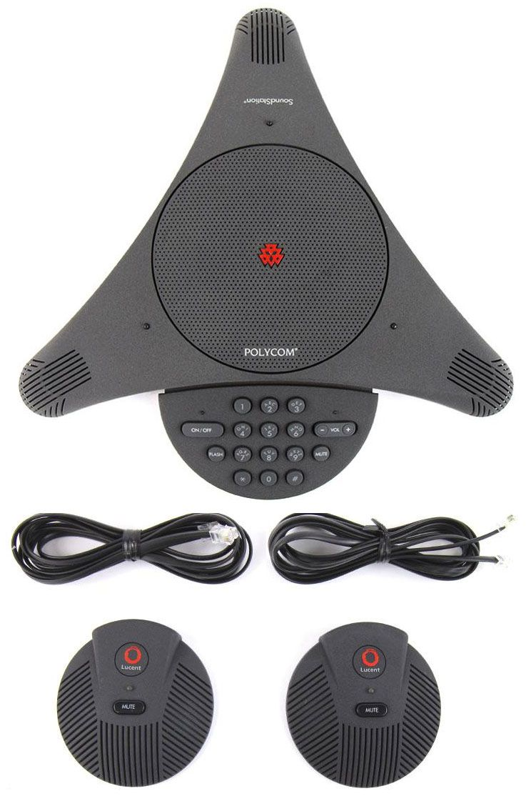 Polycom SoundStation EX with External Microphones  (2200-00696-001)