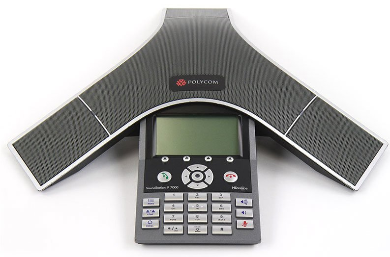Polycom SoundStation IP 7000 w/AC Adapter (2200-40300-001)