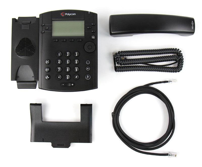 Polycom VVX 310 Business Media Phone w/AC Adapter (2200-46161-001)