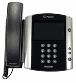 Polycom VVX 601 Business Media Phone w/AC Adapter (2200-48600-001)