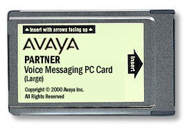 Repair: Partner Voice Messaging PC Card