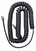 Standard Length Flat Charcoal Purple Handset Cords (HCFCP0112) 5 Pack