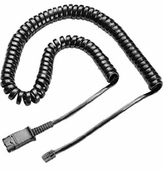 U10P Cable for Polycom SoundPoint, Polycom VVX, and Digium