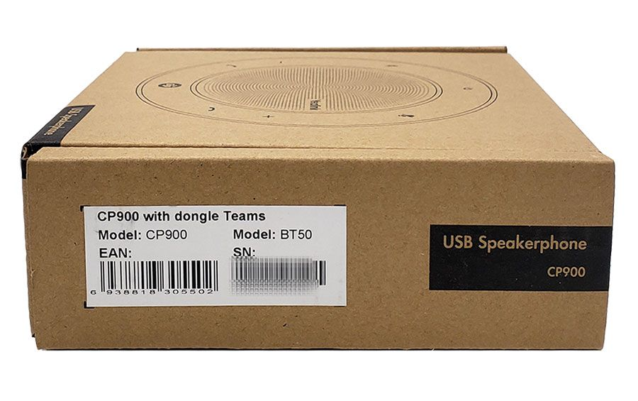 Yealink CP900 Teams Portable Speakerphone with BT50 Dongle