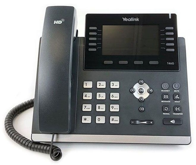 Yealink SIP-T46G IP Phone