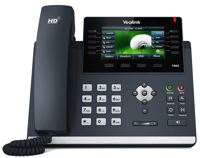Yealink SIP-T46S IP Phone (8-Pack)